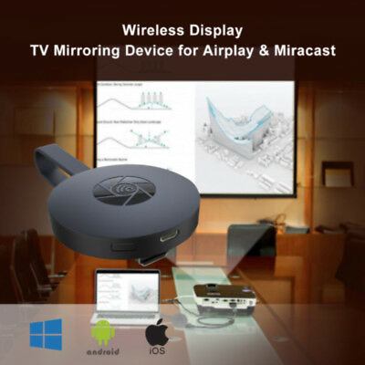 Miracast WiFi HD 1080P TV Récepteur Dongle DLNA Airplay iOS/Android Media AH366