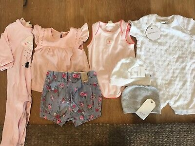 Baby Girls Bundle - 3 to 6 Months - Country Road, Fox & Finch, Cotton On, Seed