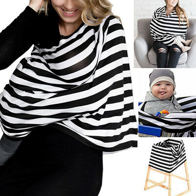 New Seat Scarf Blouse Baby Apron Multifunction 84*100*1cm Cover Nursing Canopy