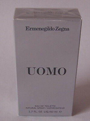 Ermenegildo Zegna Edt Uomo Spray 50 ml – Neu