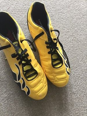 Pr Canterbury Rugby Boots- Yellow&black Uk10