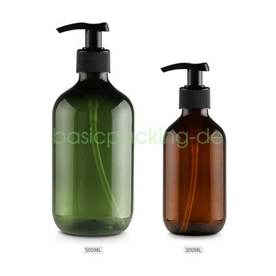 300/500ml 10oz 16oz PET Gel Lotionspender Seifenspender Leer Lotion Pump Flasche