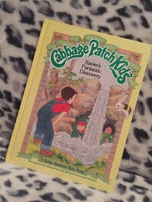 Vintage Cabbage Patch Book