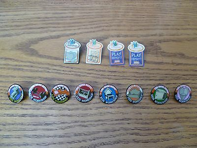 The Home Depot Kid's Workshop Lot of 12 Pins EUC