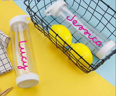 Personalised Water Bottle Sticker Love This Inspired Fitness Island Any Name