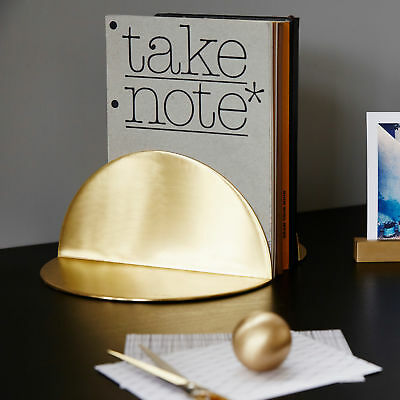 NEW Brass Bookends by BEHR & CO