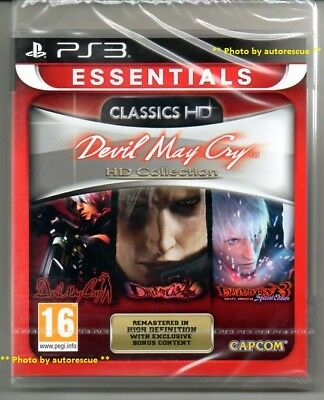 Devil May Cry HD Collection 1,2 & 3 Special Edition  'New & Sealed'   *PS3*