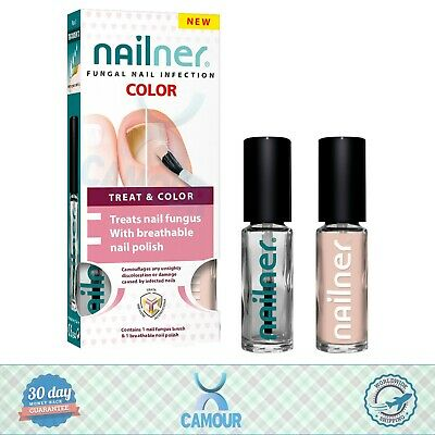 Nailner Fungal Nail Infection Treat & Colour 2 in 1 Brush & Breathable Polish