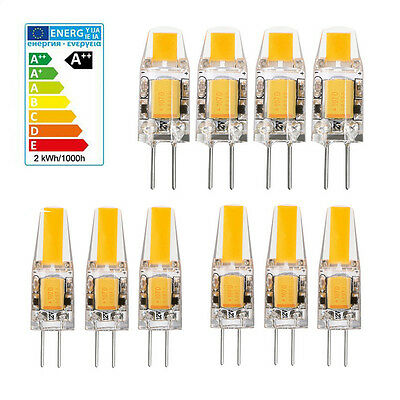 10x G4 5W 6W AC DC 12V LED COB Mini Bulb Light Replace Halogen Lamp Dimmable