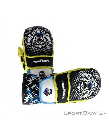 LEVEL glove worldcup JR CF mitt guanto bimbo [4105JM] black/yellow