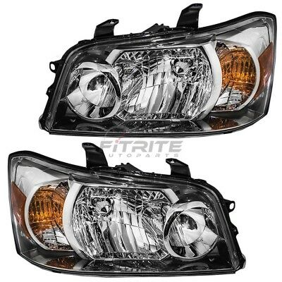 New Lh & Rh Head Lamp Assembly For 2004-06 Toyota Highlander To2502151 To2503151