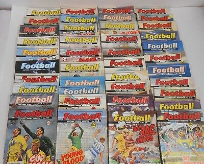 Football Picture Story Monthly - Job Lot of 36 Comics