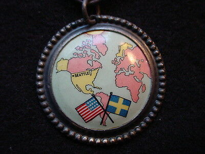 Alaska-Yukon-Pacific Exposition July 31, 1909 Swedish Day Medal