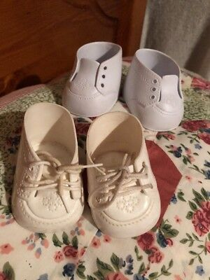 2 Pair Genuine Cabbage Patch Dolls Shoes