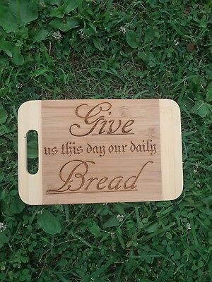 laser engraved wood cutting board 10 00 picclick