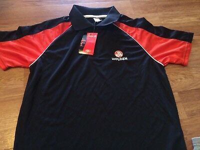 Official Holden Polo shirt , brand new , with tags ,free & fast post
