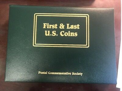 FIRST AND LAST U.S. COINS FROM THE POSTAL COMMEMORATIVE SOCIETY. 18 Coins Of 20