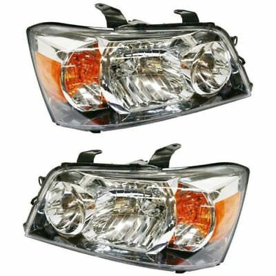 New Set Of Head Lights For 2004-2006 Toyota Highlander To2502151 To2503151