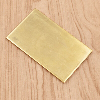 3mm Thickness Brass Metal Thin Sheet Plate Welding Metalworking DIY Craft Tool