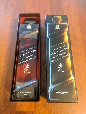 Johnnie Walker Black Label Directors Cut Scotch Whisky Blade Runner 2049 - Rare!