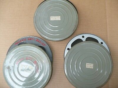 """Lot of 3 Old 16mm Stag Adult Film Movies - 7"""" Reels"""