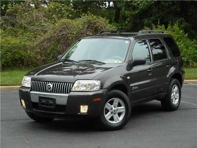 2007 Mercury Mariner SUV AWD HYBRID 1OWN NAVI ACCIDENT FREE FORD ESCAPE 2007 MERCURY MARINER SUV AWD HYBRID ONE OWNER NAVI ACCIDENT FREE NO RESERVE!