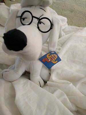 "Rocky and Bullwinkle Mr Peabody NWT 10"" Plush"