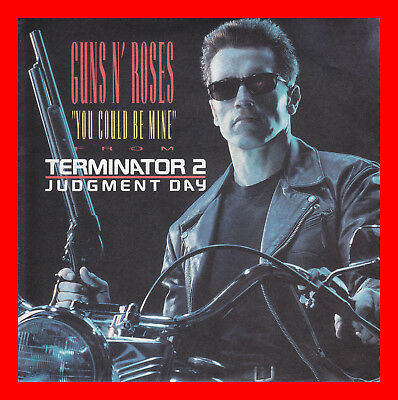 GUNS N' ROSES - You could be mine - 7'' Single - from Terminator 2 -