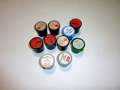 Vintage Educational Science 35mm Film Strips 1960's 1970's 80's - Lot of 10