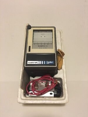 Rustrak D.c. Signal Chart Recorder For Dc 0-50 Mv Model 288