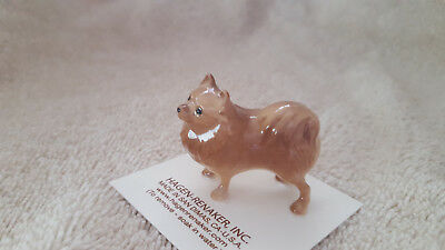 Hagen Renaker Dog Pomeranian Figurine Miniature Collect New Free Shipping 03130