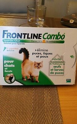 frontline combo chat 6 pipettes Neuf