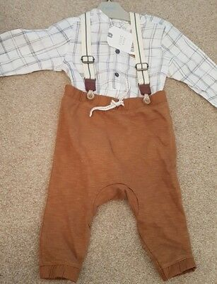 Next Boys Two Piece Outfit Bnwt 3-6 Months