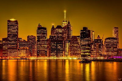 107056 City Of Gold by Chris Lord Photo Art Decor WALL PRINT POSTER CA