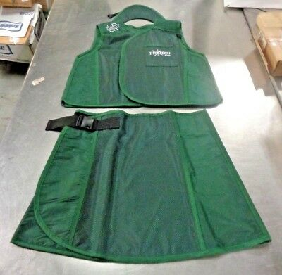 Protech Luxray VSSO LUX Green X-Ray Vest, Kilt, And Collar NEW