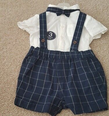 Next Baby Boys Three Piece Outfit Bnwt 0-1 Months