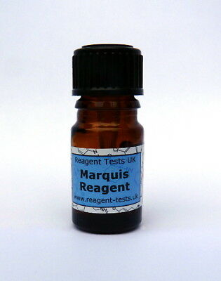 Marquis Reagent Drug Testing Kit - MDMA Speed LSD Methamphetamine Tests