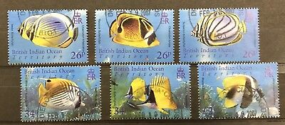 British Indian Ocean Territory 2006 Marine Life Set F.used  Ex Ms 354