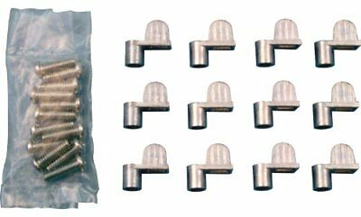 5//16 Prime-Line Products PL 7894 Screen Clips with Screws Diecast Bronze