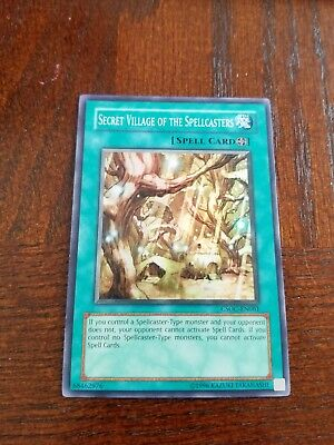 Secret Village Of The Spellcasters Super Rare CSOC-EN061 Yugioh