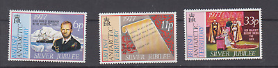 British Antarctic Territory 1977 Silver Jubilee Complete Set Mint Never Hinged