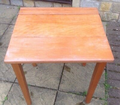 Vintage childs wooden school desk, refurbishment Upcycling Shabby Chic project.