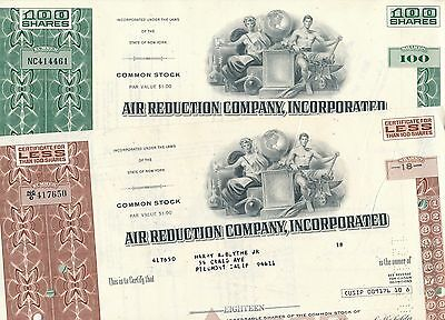 Lot: 2 x Air Reduction Co., US Hersteller Sauerstoff Liquide Air AIRCO