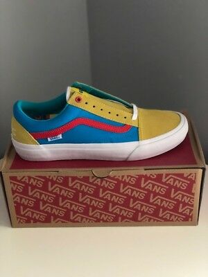 01bc5de533fd VANS OLD SKOOL Pro Golf Wang Yellow-Blue-Red DS Size 9.5 -  300.00 ...