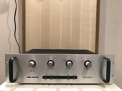 Audio Research SP-6b Full Function Tubed Preamplifier