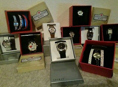 JOB LOT WHOLESALE Spirit & Portobello Road Ladies/ Girls Watches BIRTHDAY GIFTS