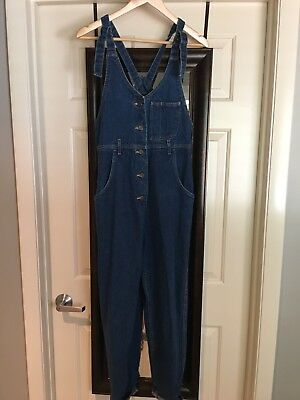 Vintage Lee Overalls Button Front
