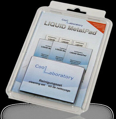 "COOLLABORATORY  ""Liquid MetalPad""  3 x CPU"