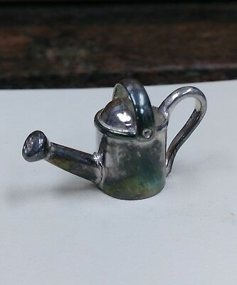 C. Vtg Sterling Silver Miniature Watering Can 10.9g