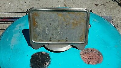 Old  Original Metal Ford Machines   Topper For Display Ad
